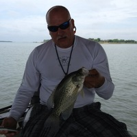 Photo of fishing for Black Crappie in Richland-Chambers Reservoir, TX