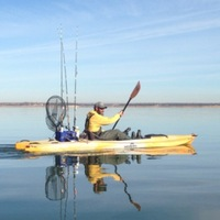 Photo of fishing for Largemouth Bass in Lewisville Lake, TX