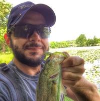 Lake New Ingram  Fishing Report 04/28/2015