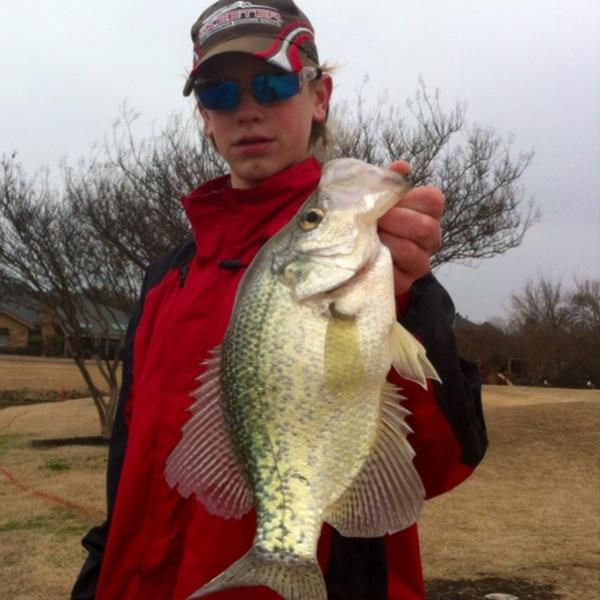 Plano Ponds Fishing Report 02/25/2014