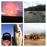 O.C. Fisher Reservoir Fishing Report 12/22/2012
