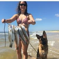 Matagorda Surf Fishing Report 09/11/2016