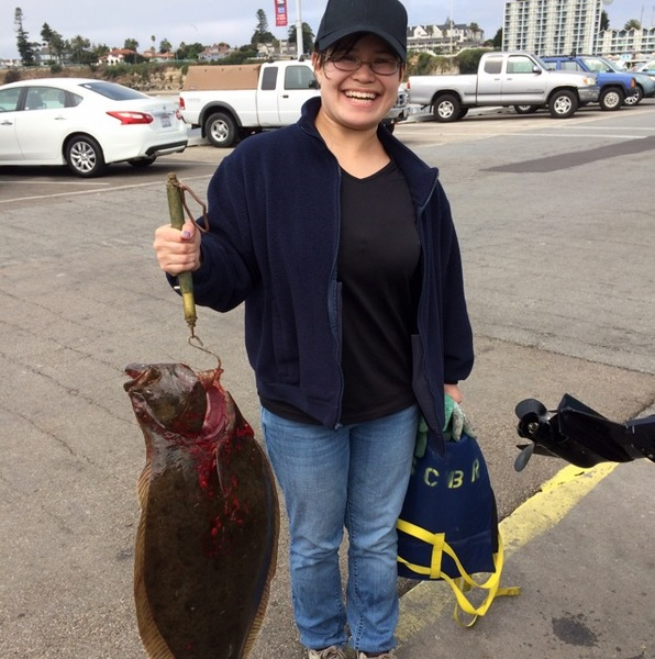 Halibut monterey bay ca fishingscout for Monterey fishing report