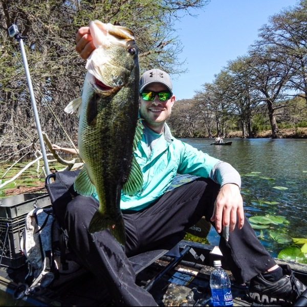 Frio River Fishing Report 04/01/2014