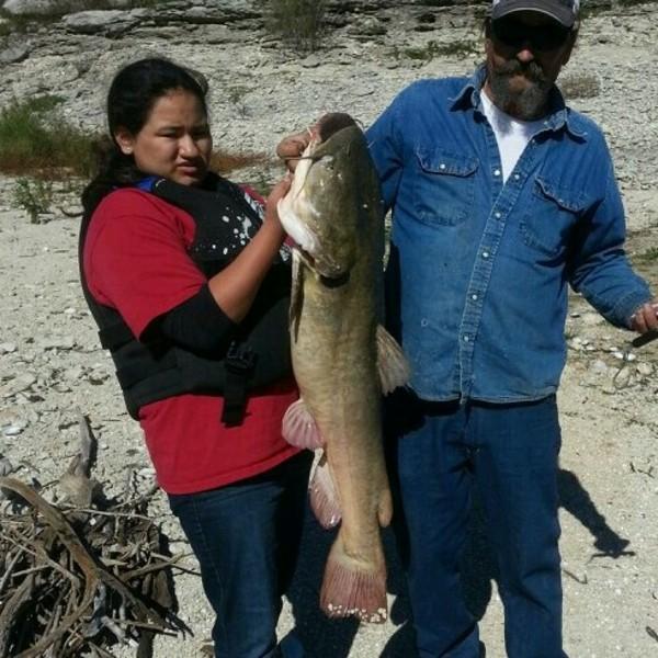Flathead catfish belton lake tx fishingscout for Belton lake fishing