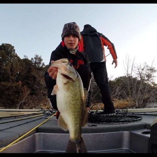 Squaw Creek Reservoir Fishing Report 01/28/2014