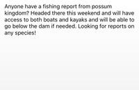 Possum Kingdom Lake Fishing Report 05/25/2016