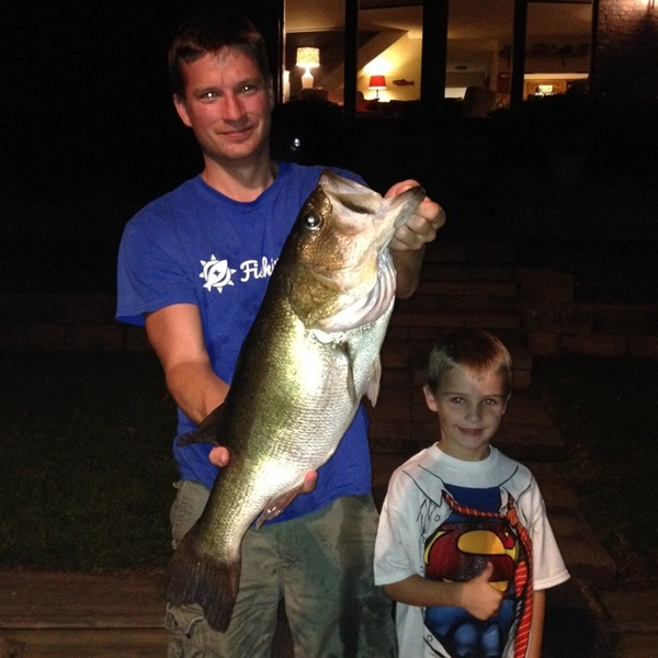 Lake Nacogdoches Fishing Report 08/08/2014