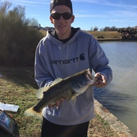 Frisco Ponds Fishing Report 01/04/2017