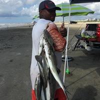 Galveston Island Beach Fishing Report 07/10/2017