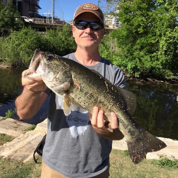 Lady Bird Lake Fishing Report 03/30/2017