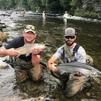Salmon River Fishing Report 09/19/2017