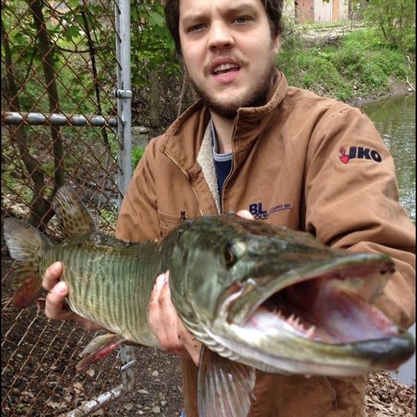 Chadakoin River Fishing Report 05/17/2014