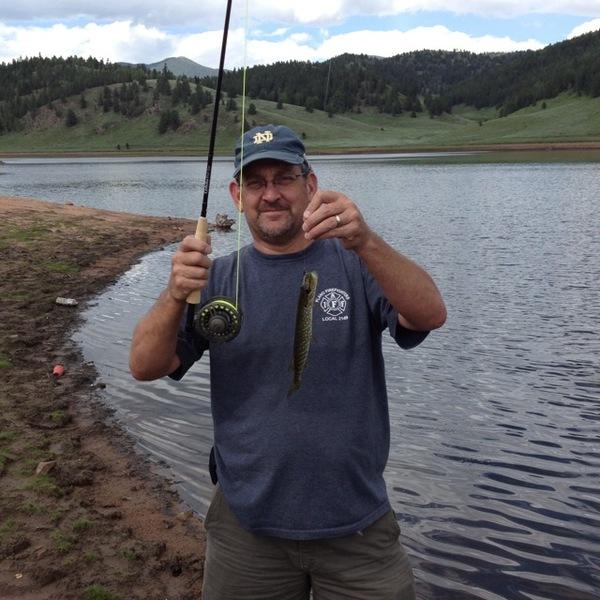 Skaguay reservoir fishing reports fishingscout mobile app for Pueblo reservoir fishing report