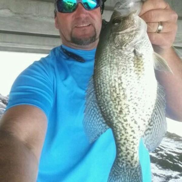 Black crappie lake guntersville al fishingscout for Fishing report near me