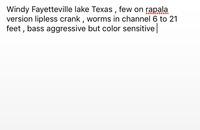 Fayette County Reservoir Fishing Report 12/24/2016