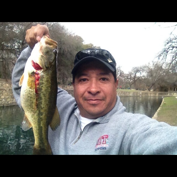 San Antonio River (Brackenridge Park) Fishing Report 02/24/2013