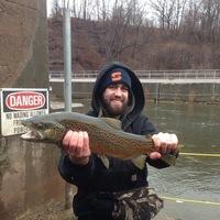 Oak Orchard Creek Fishing Report 04/27/2013