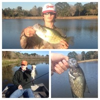 Quantum Lakes Fishing Club Fishing Report 03/14/2014