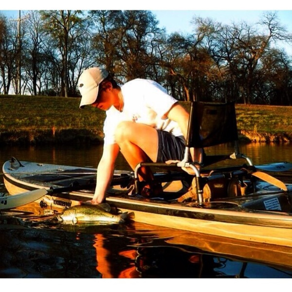 Ft. Worth Ponds Fishing Report 03/25/2014