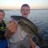 Grapevine Lake Fishing Report 08/06/2016