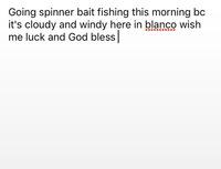 Blanco River Fishing Report 06/09/2017