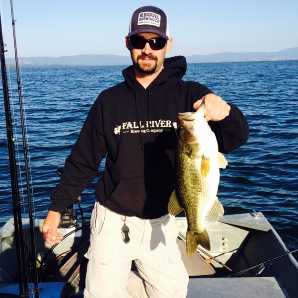 Largemouth bass clear lake ca fishingscout for Best fishing forecast app