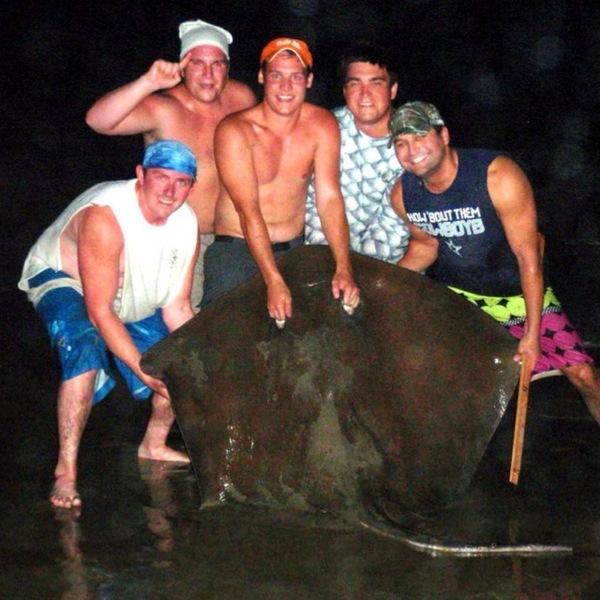 Galveston Island Beach Fishing Report 05/23/2013