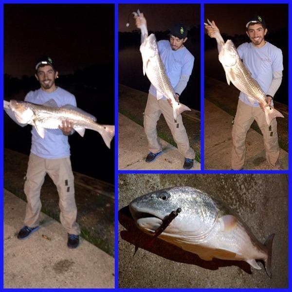 Seabrook Ponds Fishing Report 03/21/2015