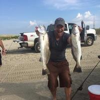 Galveston Island Beach Fishing Report 08/01/2017