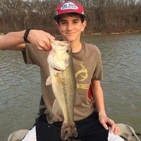 Denton Ponds Fishing Report 02/20/2016