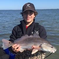 Chorpus Christi Bay  Fishing Report 01/18/2016