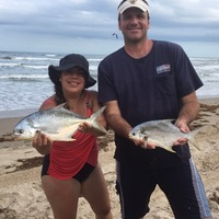 Padre Island National Seashore Fishing Report 03/11/2017