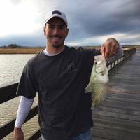 George Bush Park Ponds Fishing Report 01/02/2017