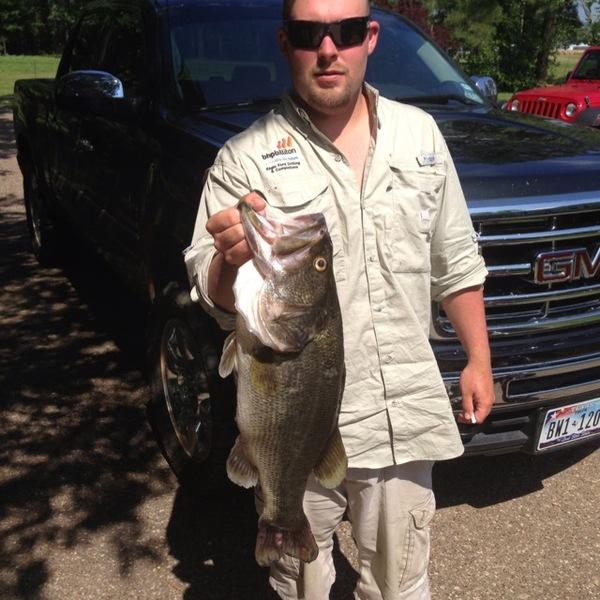 Lake Pinkston Fishing Report 05/22/2013