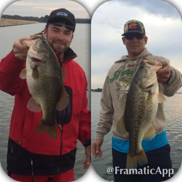 Fairfield Lake Fishing Report 12/07/2014