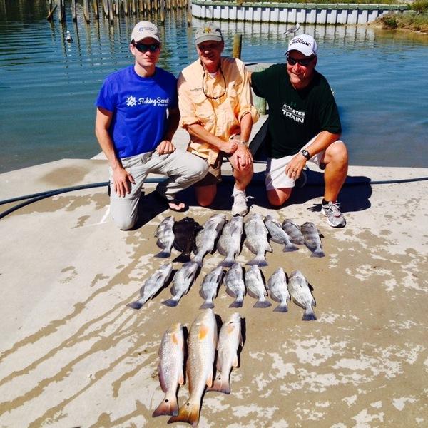 Copano Bay Fishing Report 10/08/2013