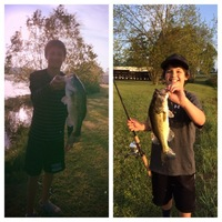Kurth Lake Fishing Report 04/19/2014