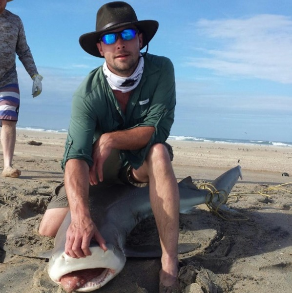 Bull shark lookout bight nc fishingscout for Cape lookout fishing report