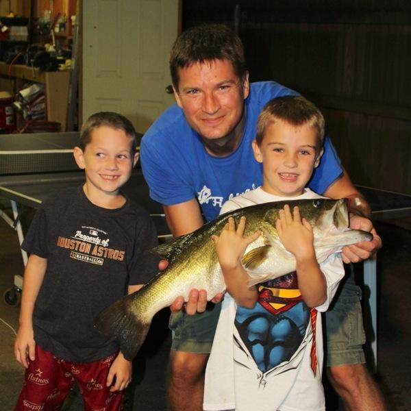Lake Nacogdoches Fishing Report 08/11/2014