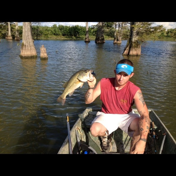 Black creek cooling pond fishing reports fishingscout for Ms fishing report
