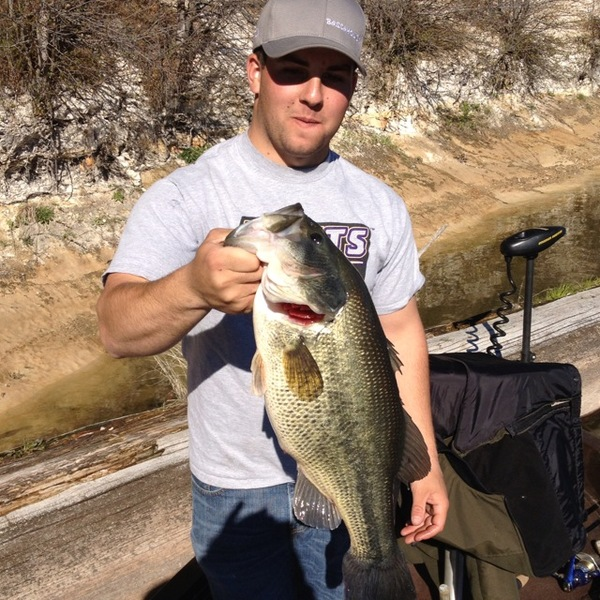 Lake britton fishing reports fishingscout mobile app for Lake o the pines fishing report
