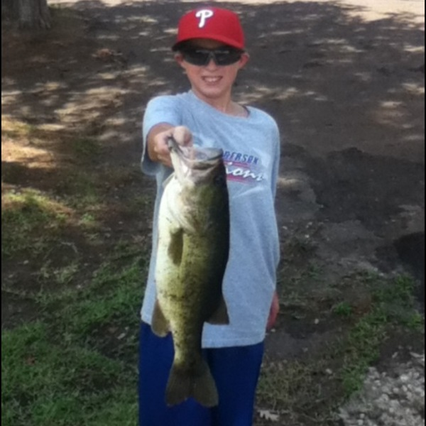 Lake Tyler Fishing Report 08/25/2013