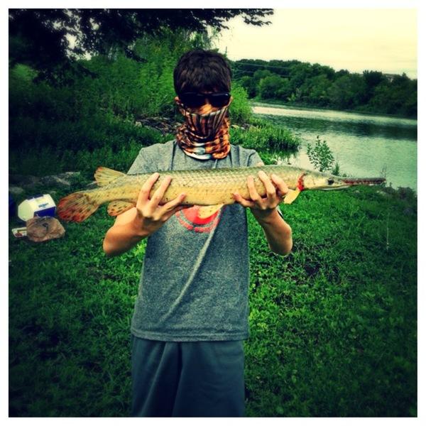 White Rock Lake Fishing Report 08/16/2013