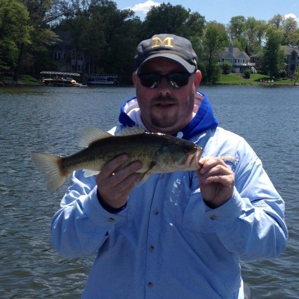 Lake templene fishing reports fishingscout mobile app for Center hill lake fishing report