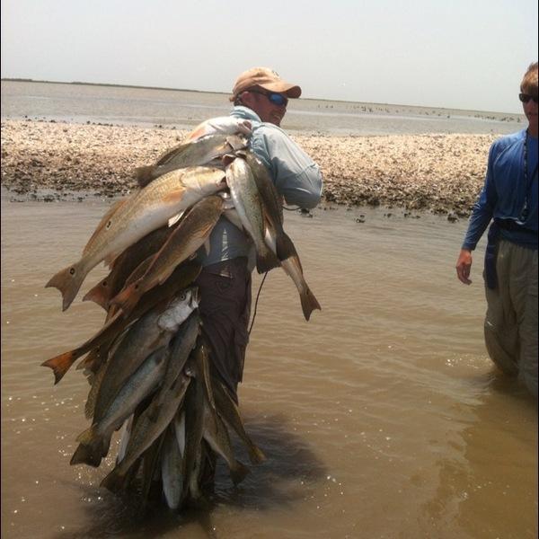 East Matagorda Bay Fishing Report 08/29/2012