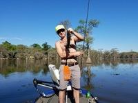 Caddo Lake Fishing Report 04/10/2017