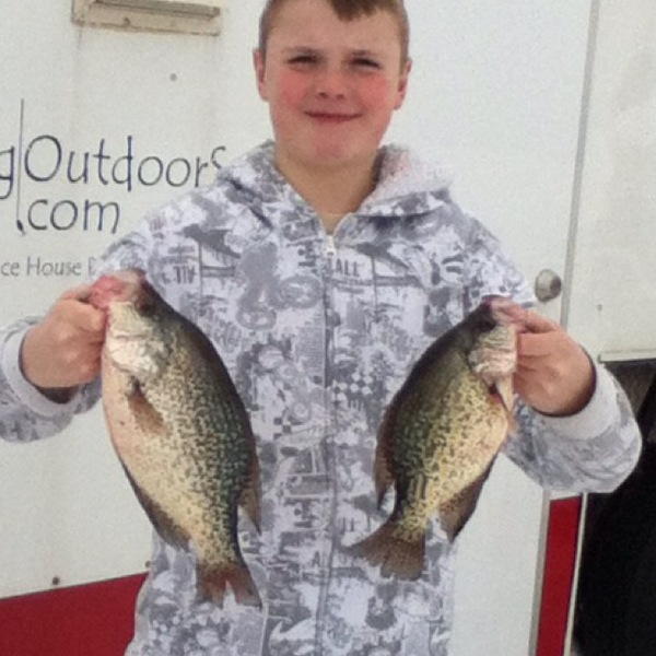 White crappie upper red lake mn fishingscout for Upper red lake fishing report
