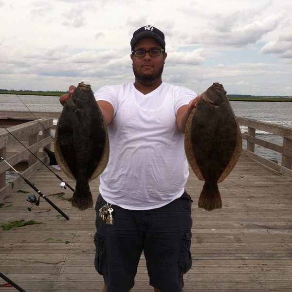 fluke jones beach fishing pier ny fishingscout