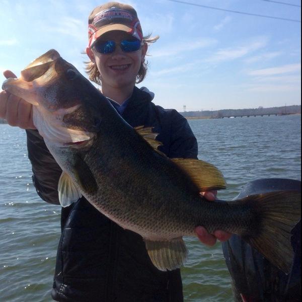 Lake Monticello Fishing Report 03/14/2014